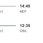 Iceland: Nonstop Starting at €108 From Europe in October 2020 (Hand Luggage Only)
