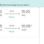 Non-stop flights from Dublin to WASHINGTON from €297