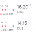Dublin, Ireland to Hong Kong for only €374 roundtrip (Sep-Nov dates)