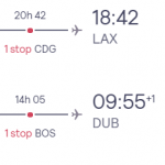 Dublin, Ireland to Los Angeles, USA for only €291 roundtrip (Sep-Oct dates)