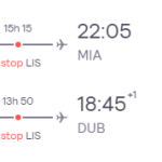 Dublin, Ireland to Miami, USA for only €296 roundtrip (Oct-Mar dates)