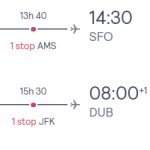 Dublin, Ireland to San Francisco, USA for only €294 roundtrip (Sep-Nov dates)