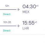 Business Class from London, UK to Mexico City, Mexico for only £1194 roundtrip (lie-flat seats) (Nov-Dec dates)