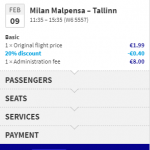 Wizz Air SALE! Flights from / to MILAN with 20% OFF