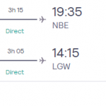 Early booking! Direct flights from London to TUNISIA from £70