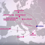 Wizz Air announces 8 new routes to / from Varna, Bulgaria