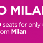 Wizz Air SALE: 100 000 tickets to and from MILAN for €9.99