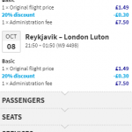 Cheap flights from London to Reykjavik, Iceland from £17