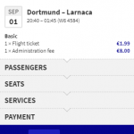Wizz Air SALE: 100 000 tickets to and from DORTMUND for €9.99