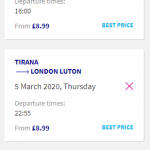 London, UK to Tirana, Albania for only £17 roundtrip (& vice versa for €19) (Wizz members price) (Sep-Oct dates)