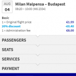 Wizz Air PROMO: Selected flights to / from HUNGARY with 20% OFF