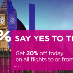 Wizz Air Sale: 20% off on flights to/from the UK!