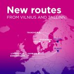 Wizz Air launches 5 new routes from / to VILNIUS & 2 from / to TALLINN
