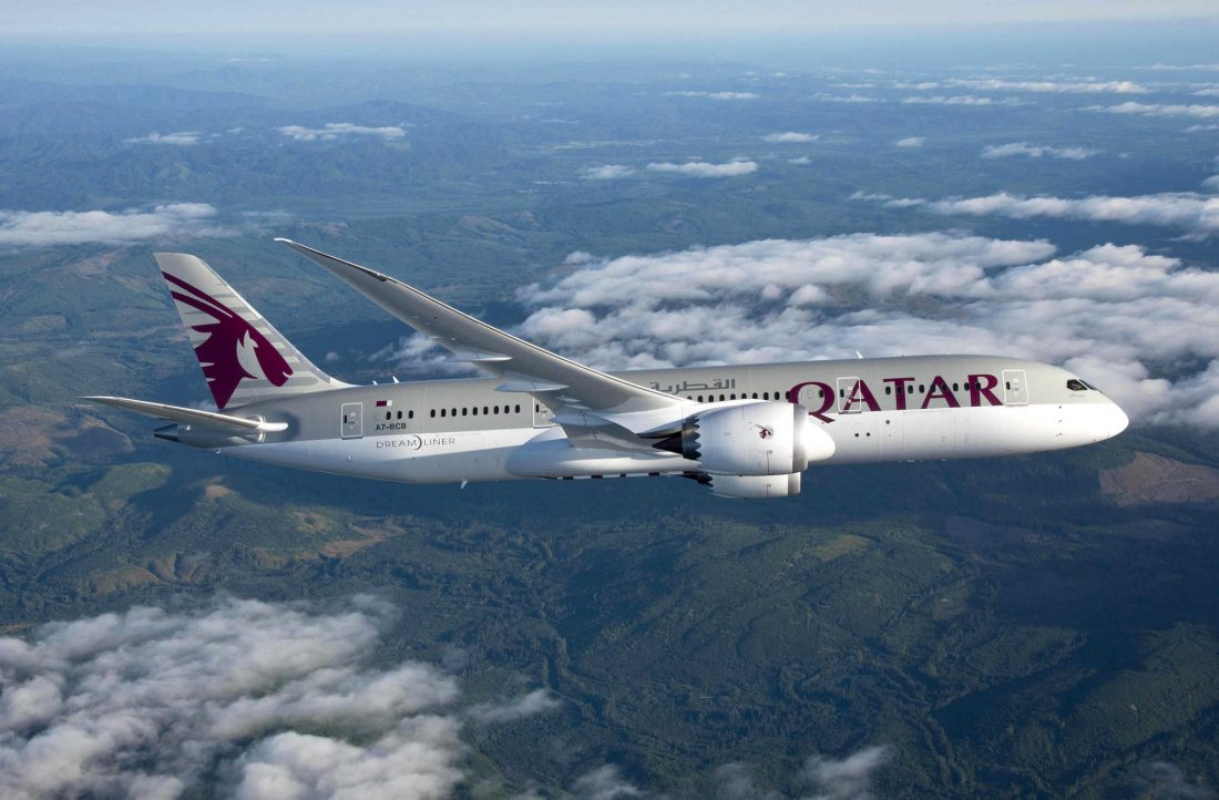 Qatar Airways Boeing 787 InFlight 1100x722 1