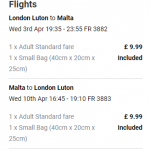 Non-stop from London, UK to Malta for only £19 roundtrip (Sep dates)