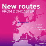 Wizz Air announced 7 new routes from / to ENGLAND