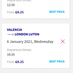 Non-stop from London, UK to Valencia, Spain for only £16 roundtrip (& vice versa for €18) (Wizz members price) (Dec-Mar dates)