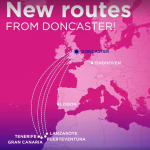 Wizz Air announced 6 new routes from / to Doncaster, ENGLAND