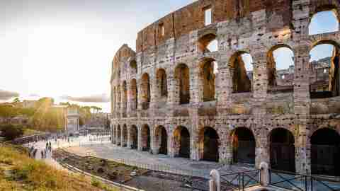 outdoor view of the colosseum or coliseum also known as the flavian amphitheatre it is an oval in of t20 ko01w4 scaled 1