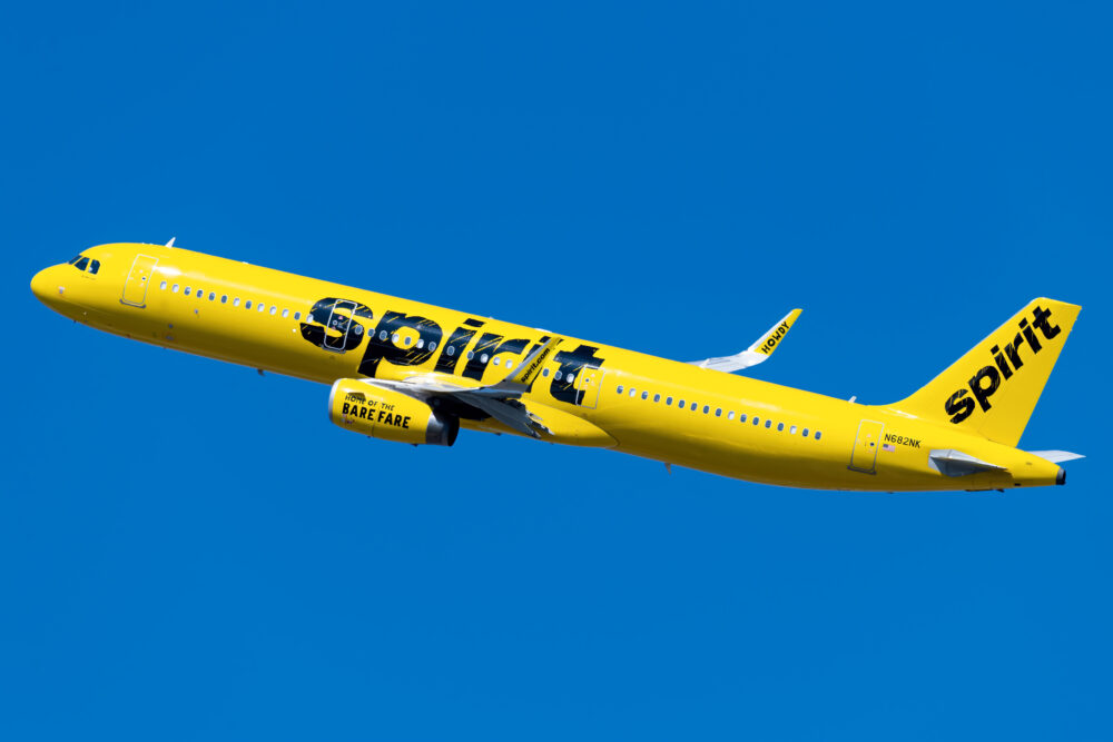 Spirit Airlines Airbus A321 231 N682NK 1 1000x667 1