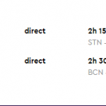 Direct flights from London to BARCELONA for £10 (Oct 2020)