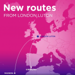 Wizz Air announced 2 new routes from / to London
