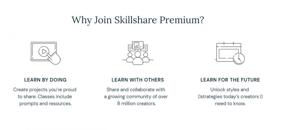 skillshare 2 weeks free