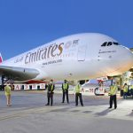 Emirates' Flagship A380 Superjumbo Returns To Amman