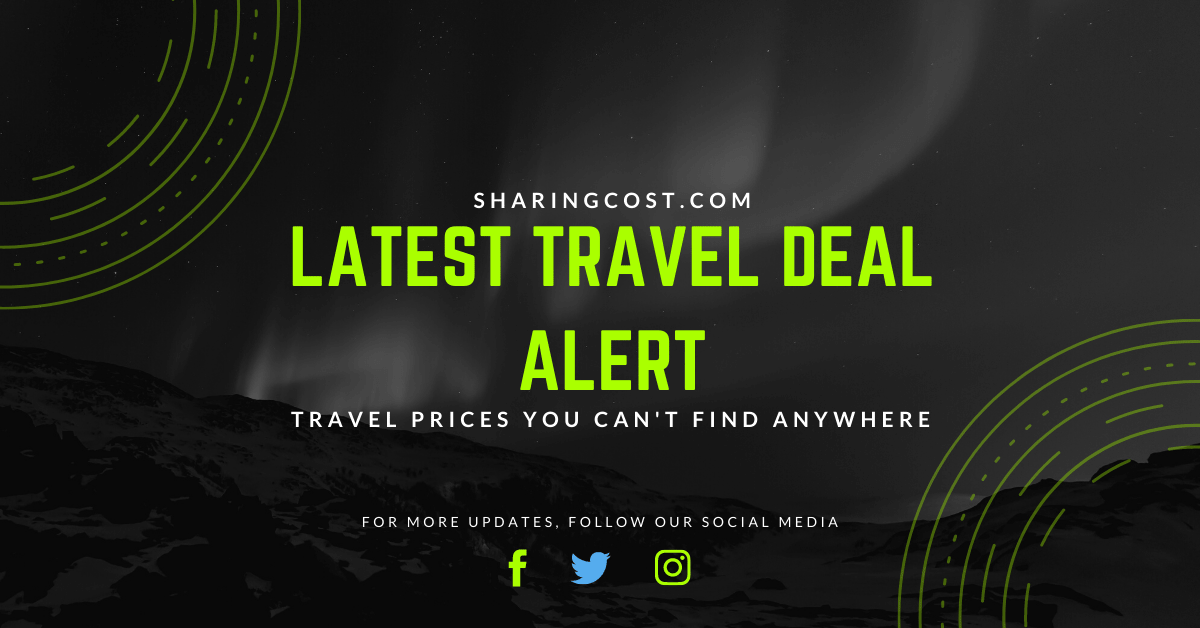 Latest Travel Deal sharing cost.com 2 min
