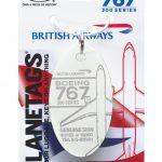 British Airways B767 turned into PlaneTags