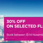 Wizz Air Sale: 30% off on selected flight!