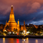 Amsterdam, Netherlands to Bangkok, Thailand for only €362 roundtrip
