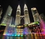 Chennai, India to Kuala Lumpur, Malaysia for only $163 USD roundtrip