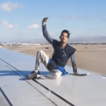 Las Vegas man arrested after climbing onto the wing of Alaska Airlines plane