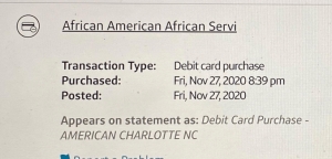 african american service charge 300x144 1
