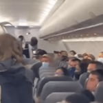 'This is Nazi Germany!!' – Hasidic Jewish family of 22 kicked off Frontier plane for 'refusing face masks'