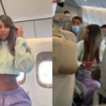 French economy class influencer mocked for faking business class trip